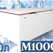 Морозильный сундук для больших складских помещений с глухой крышкой Juka M1000Z фото