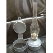 Лампа керосиновая с отражателем фото