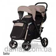 Детская прогулочная коляска для двойни EasyGo Fusion фото