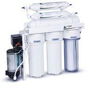 Система очистки питьевой воды методом обратного осмоса Leader Standart RO-6 фото