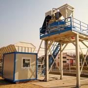 Быстровозводимый бетонный завод Sumab T-60 фото