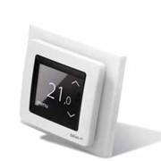Терморегулятор с сенсорным дисплеем и интеллектуальным таймером DEVIregTM Touch Диапазон регулирования 5…45 °С пол, 5…35 °С воздух фото