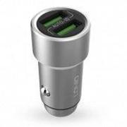 LDNIO Автомобильное зарядное устройство LDNIO с подсветкой в комплекте с кабелем Micro USB фото