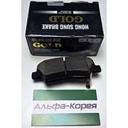 Колодки тормозные задние дисковые Solaris 17- / Rio17 (с отверстиями) // SB фото