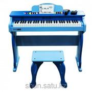 Детское электронное пианино (синтезатор) Schoenhut, со стулом фото