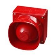 Оповещатель атмосферозащищенный звуковой с несколькими тональными сигналами для открытых площадей XP95 фото
