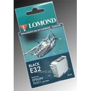 Картридж Ink T032140 E321Bk for Epson Stylus C70 Black Lomond L0202738 фото