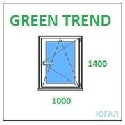 Окно ПВХ 1000х1400 (ШхВ), кредит, рассрочка, Green Trend фото
