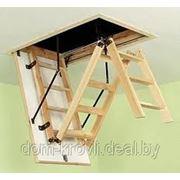 Чердачная лестница FAKRO LWK Komfort, 70х130х3.05 фото