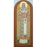 Мерная икона Свт. Афанасий Лубенский фото