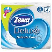 Т/б ZEWA Delicate Care 3 слоя 4 рулона фото