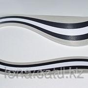 Бумага набор №4 130гр., 300мм, 150 полос, 3 цвета белый, серый, черный фото