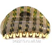 Заколка-краб Крупная сеточка микс фото