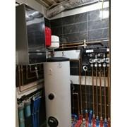 Монтаж системы отопления частных домов фото