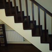 Лестницы деревянные, бетонные, железные. фото
