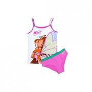 Комплект для девочки(трусы+майка) Winx Club 12U27 фото