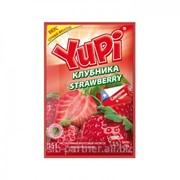 Растворимый напиток YUPI Клубника, 6*24шт*15гр фото