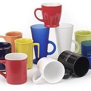 Нанесение логотипа на чашки фото