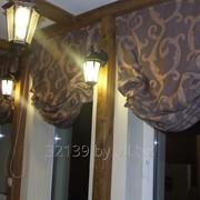 Романские шторы фото