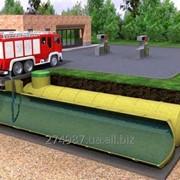 Пожарные резервуары подземные. б/у фото