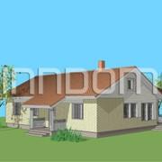Панельно каркасный финский дом Топаз фото