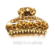 Заколка-краб Леопард фото