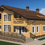Индивидуальное проектирование загородных домов и коттеджей. Реконструкция домов. фото