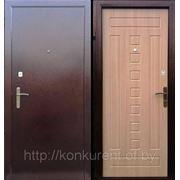 Дверь стальная утепленная Спарта 1 (бел.дуб) фото