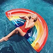 Надувной матрас радуга 180 см фото