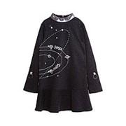 Платье для девочки Мой космос, мои правила фото