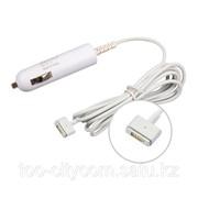 Автомобильное зарядное устройство для Apple Macbook Magsafe2 60W Small фото