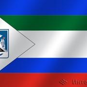 Флаг города Воркута (Коми) фото