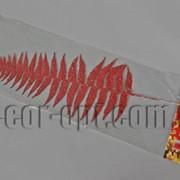 Лист красный с блеском 35/45 см 4324 фото