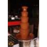 Шоколадный фонтан в Алматы фото