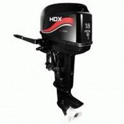 Лодочный мотор HDX TE 18 BMS R-Series двухтактный фото