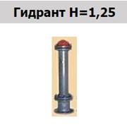 Гидрант H=1,25 фото