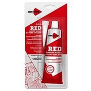 Герметик для прокладок красный AIM-ONE 85 гр фото