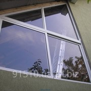 Холодные алюминиевые окна фото