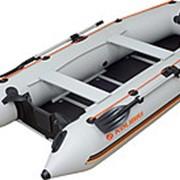 Надувная килевая 3/4-местная моторная Лодка Kolibri КМ-300D Профи серия фанерный пайол-книжка со стрингерами фото