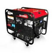 Бензиновый генератор Вулкан SC13000 3ф 13кВт, эл.старт, бак-30л фото