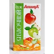Сок яблочный осветленный восстановленный 1л фото