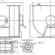 Вентилятор радиальный центробежный фото