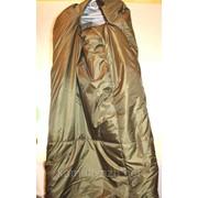 Спальный мешок зимний олива фото
