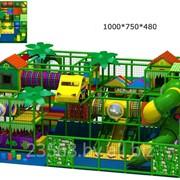 Лабиринт детский игровой 75 м2 фото