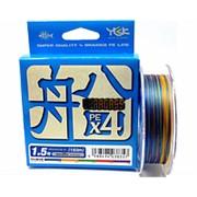 Плетеный шнур YGK VerogassFune x4 #1.2 0,185мм 150м фото
