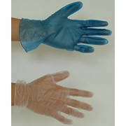 Перчатки медицинские виниловые фото