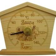 Термометр SAWO 135 T домик фото