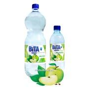 Напиток на основе минеральной воды Вiта Со вкусом Яблока 1,5 л фото