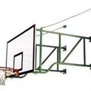 Ферма баскетбольная настенная со щитом фото