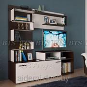 Горка- стенка для гостиной Евро (BTS-мебель, Россия) фото